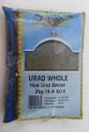 URAD WHOLE fasola mung czarna 2kg