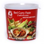 RED CURRY PASTE - Czerwona pasta curry 400gms