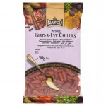 DRIED BIRDSEYE CHILLIES papryczki chilli 50g