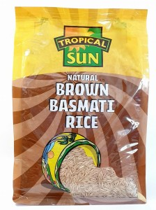 TROPICAL SUN BROWN BASMATI RICE - Ryż Brązowy Basmati 2KG